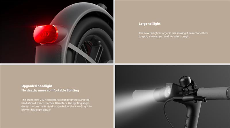 2020 Newest Mi Lite Electric Scooters Essential Max Speed 20km/h Folding Smart E Xiaomi Electric Scoote Adult