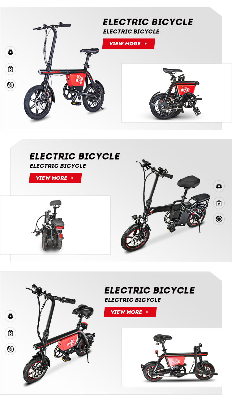 2020 China  Kede Factory New Product Unisex two wheel foldable Electric bicycle