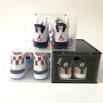 TL5689 clear transparent acrylic display shoe box