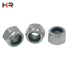 Nut Standard Hex Nylock Insert Lock Nut Carbon Steel Hex Nut With Nylon Insert