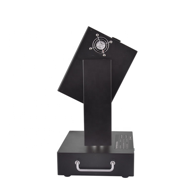 Genuine Sparctic-move 750W moving head spark fountain machine rotate cold fireworks for special stage effect
