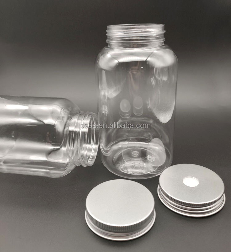 Wholesale plastic juice bottles with cap 500ml water bottle empty juice cans 155pcs/carton