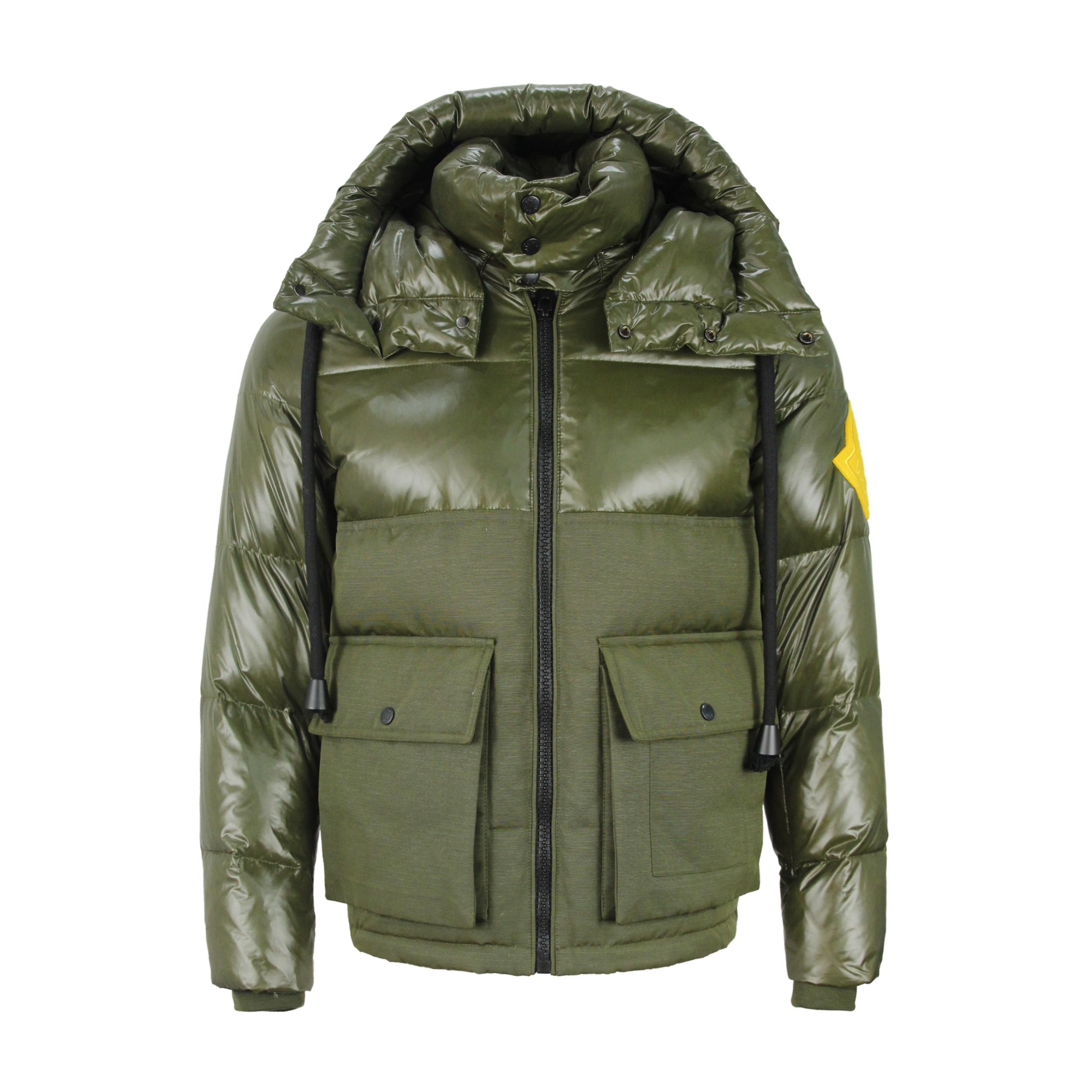 Winter Korean Short Style Stand Collar Bomber Jacket Men Padded Jacket