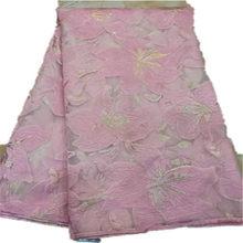5 ярдов Мягкая ручная резка элегантная африканская французская кружевная ткань блестящая Свадебная нигерийская Гана праздничное платье с ...(Китай)