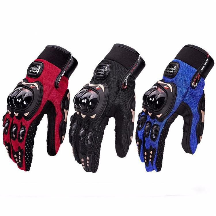 Hot Sales Durable Windproof ป้องกันลายนิ้วมือ Anti-SLIP ถุงมือรถจักรยานยนต์สำหรับบุรุษและสตรี