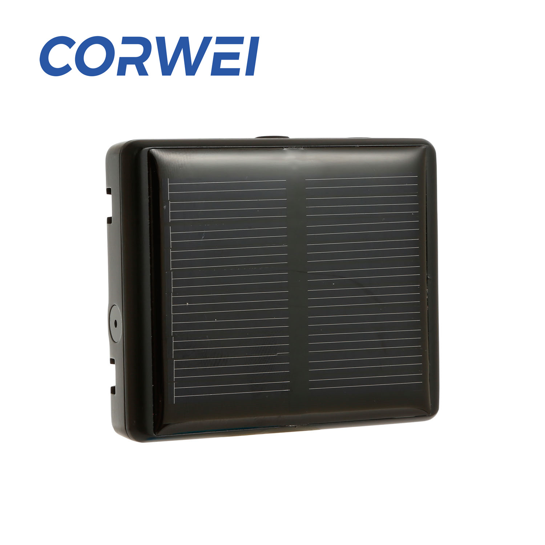 Quality fashion mini solar gps tracker magnetic sensor alarm power anti-theft cow sheep with Stable Performance
