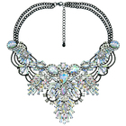 New design crystal statement necklace for women
