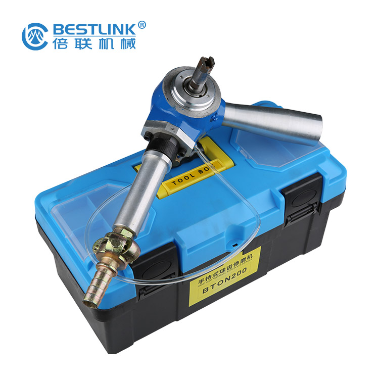 Hand-Held Air Driven Pneumatic Tools for Grinding/Sharpening Drill Button Bits