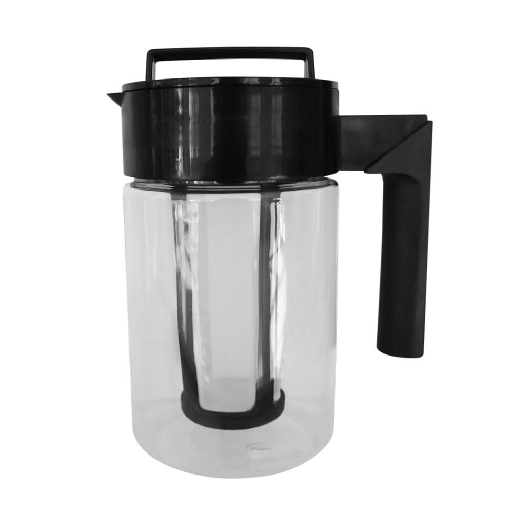 900 мл Кофеварка холодного заваривания со льдом герметичное уплотнение силиконовой ручкой чайник для кофе Нескользящая силиконовая ручка д...(Китай)