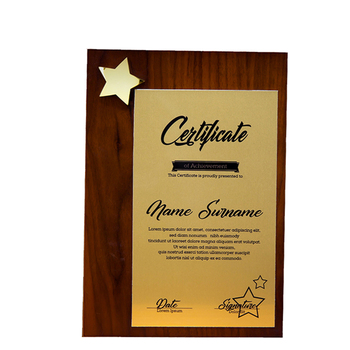 New Style Office Wooden Custom Name Awards Award Plaque For Sports Ceremony,Competition,Authorizing