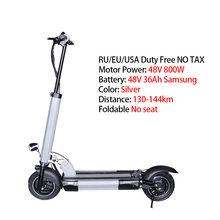 "E скутер 48V800W максимальное расстояние до 144 км 11 ""моторное колесо 36ah складной скейтборд Ховерборд Patinete Eletrico Adulto E Bike(Китай)"