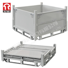 Torin LK14B New Product Warehouse Logistic Steel Stackable Storage Box With Pallet