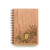 Chinese customised business eco raw materials wooden notebook