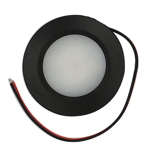 Dimmable 10-30V 12V 24V LED Puck Light Motorhome Cavaran RV Lamp Ceiling Down Dome Light CE