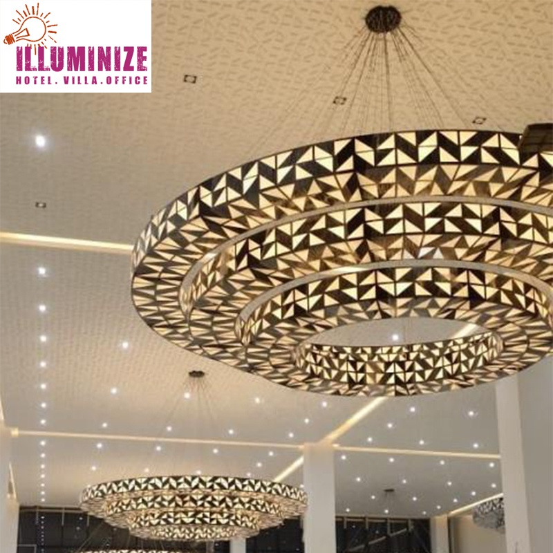 Specializing in the production of the latest LED chandelier specializing in customized large-scale Arab mosque Chandelier