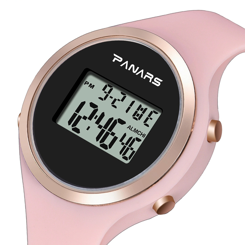PANARS 8122 Brand Women Watch Sports LED Digital Fashion Waterproof Ladies Clock Military Silicone Electronic Watch Montre Femme фото