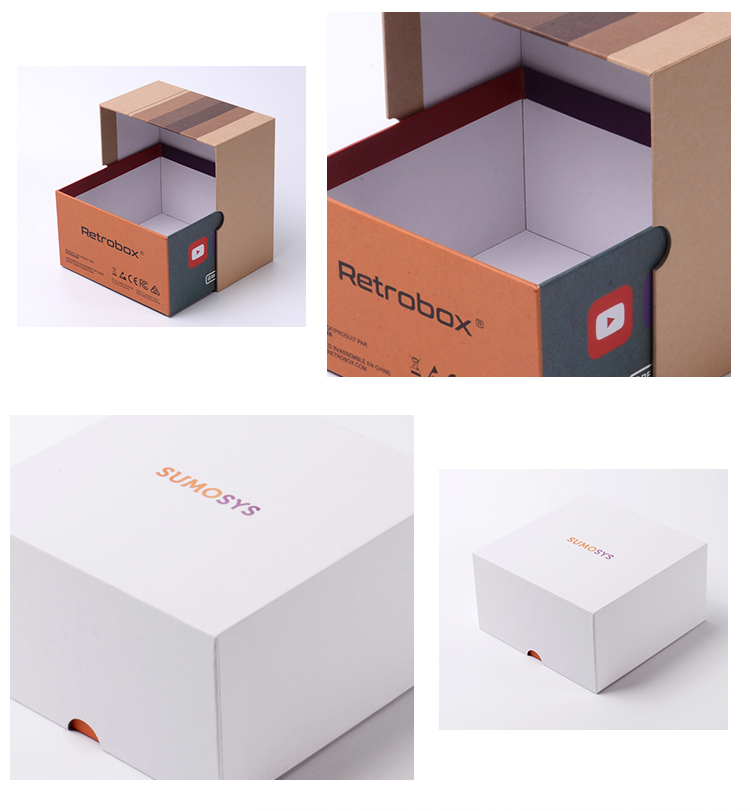 22 Year Oem Service Custom Box With Lid Square Gift Rigid Paper Box