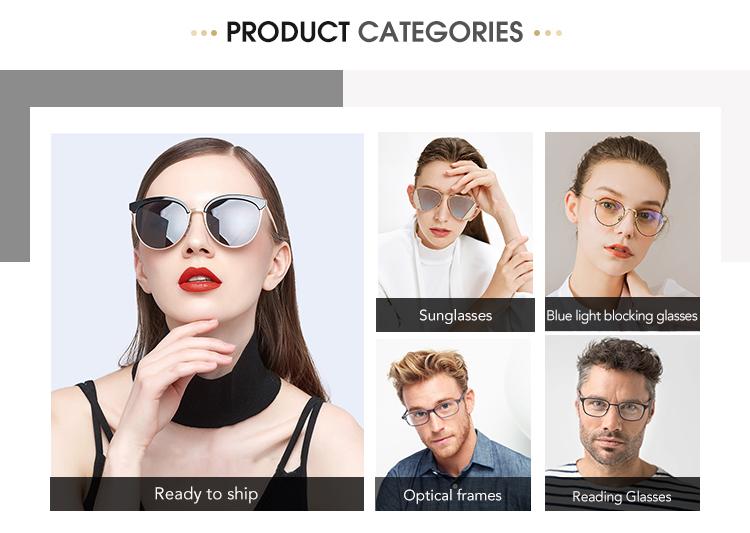 9715 FDA del CE metallo cateye occhiali da vista frames per le donne