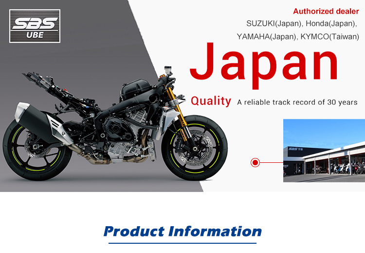 Japanese import good quality high performance miniature motorcycle
