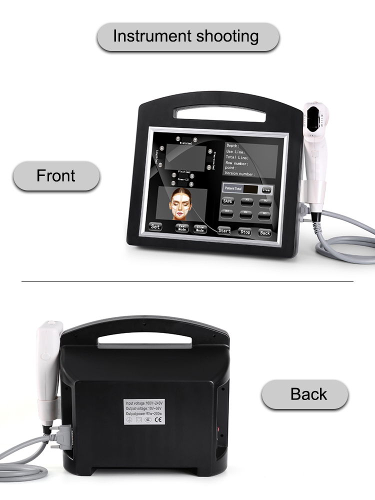 Portable HFU 4D 3D Face skin Lift 1-12lines Body Slimming Ultrasound HFU skin tightening machine Beauty Machine