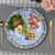 Bone China Blue and White Dinner Sets Gold  Dinnerware Sets Wedding