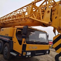Used Original Paint Chinese XCMG 130 ton QY130K Truck Crane With High Performance