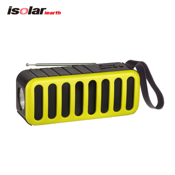 ISX18 Bluetooth Speaker Lamp Fm Radio Multiband digital radio with USB/TF mp3 player Wireless Portable Speaker with solar panel