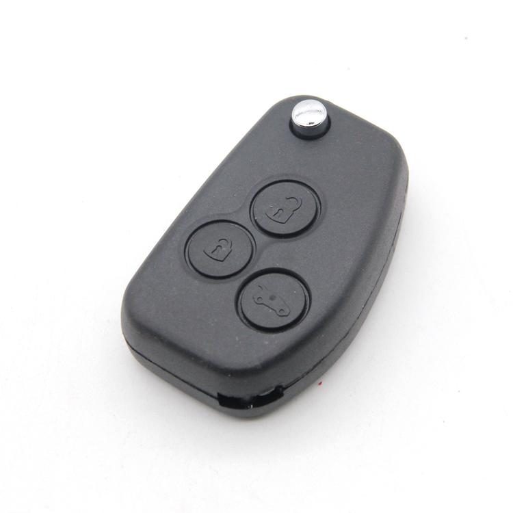 Transponder Car Key Shell Fob Car Key Case Chip Car Key Housing With Good Quality Blade 3 Buttons