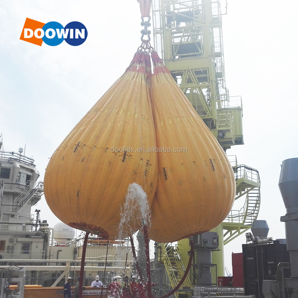 High Strength Load Testing Water Weights Water Bags for Crane Hoist Testing Weight
