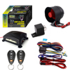 One Way DC 12V Voltage car lock alarm car gsm System and Shock sensor build-in alarmas de auto with 18 functions optional
