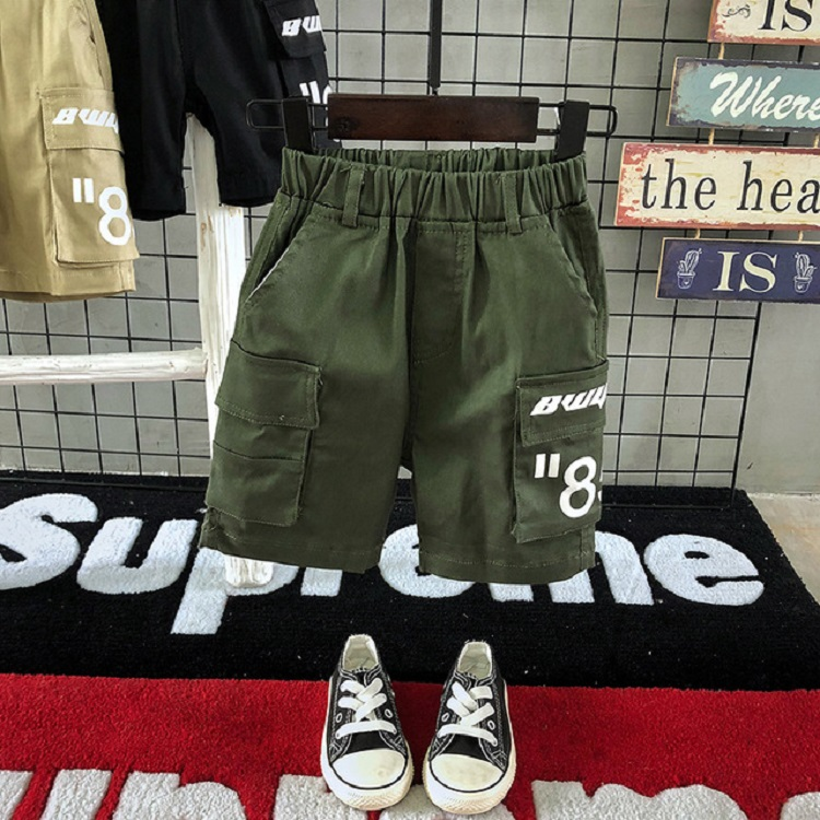China Wholesale Market New Brand Kids Short Cargo Pants For Boys For Distributor Opportunities