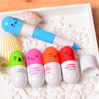 Multi-Functional Pen Pen Retractable Plastic Plastic Promotional Plastic Pen Mini Capsule Pill Pen Promotion Advertising Retractable Plastic Ballpoint Pen