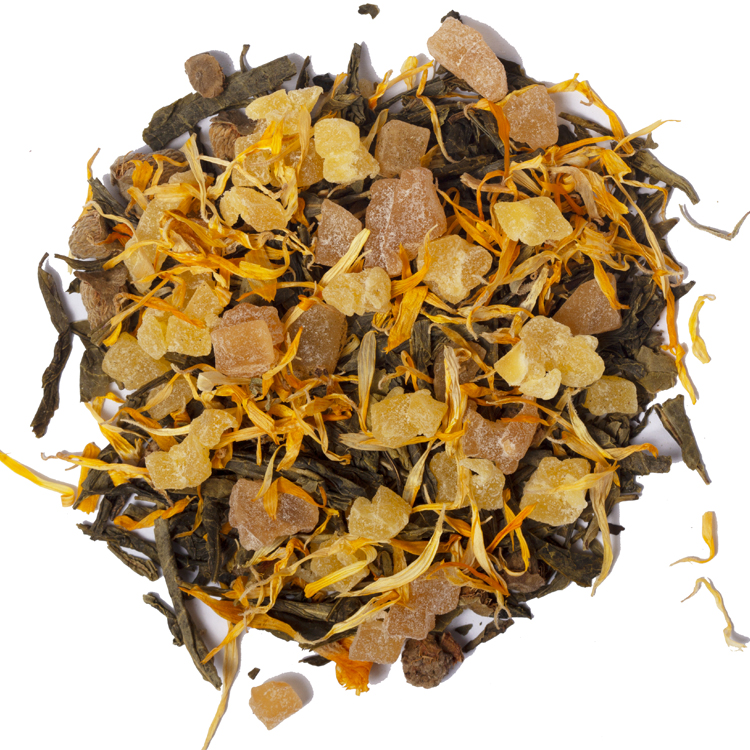 Health Care Organic Bulk Chamomile Jasmine Dried Fruit Flavored Loose Black Blended Tea - 4uTea | 4uTea.com
