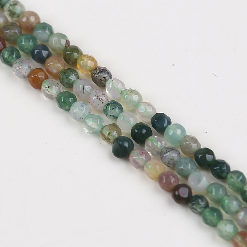 2mm Indian agate loose stone beads