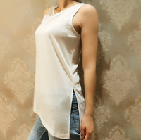 Summer Sleeveless O-Neck plus size t shirts Tank Tops