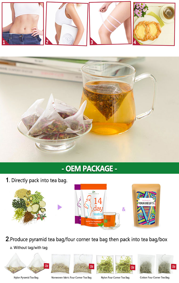 Natural Top Quality Excellent Herbal Ginger Black Detox Womb Slimming Tea - 4uTea | 4uTea.com
