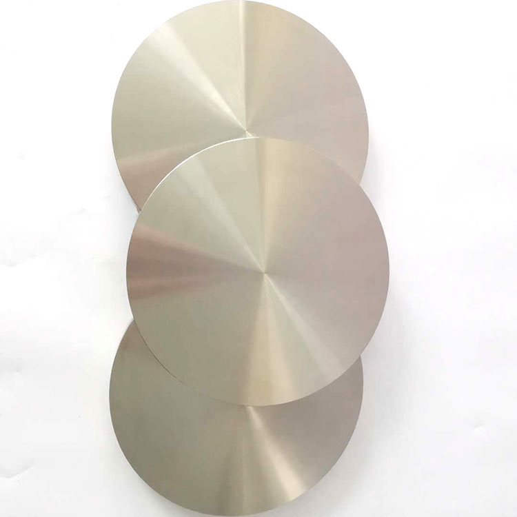 Supply gr1 gr2 round <strong>titanium</strong> forged target for sputtering