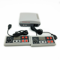 Xmas gift family retro mini game console with 620 games dual controllers game console