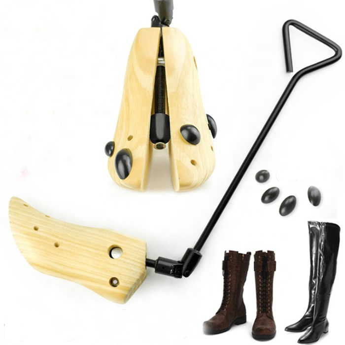 Heavy-Duty Professional Boot Stretcher Men Western Cowboy Boot Stretcher Choice for High Heeled Boots