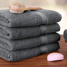 5 Star Luxury Hotel 100% Cotton Bath Towel Grey Hotel Towels