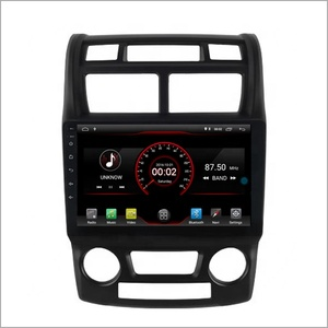 Newnavi 9 inch car video gps android 9.0 one din car stereo for KIA SPORTAGE 2004-2010 Auto Air