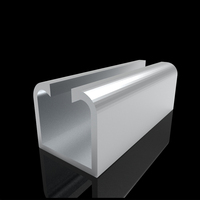 Industrial Stable Advertisement Aluminum Extrusion Profile