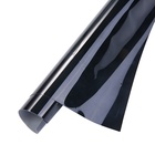 KPAL Black TPU/ 3D Carbon Fiber Car Protection Sticker Roof Film