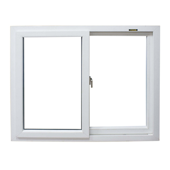 pvc/upvc/plastic sliding window with handle