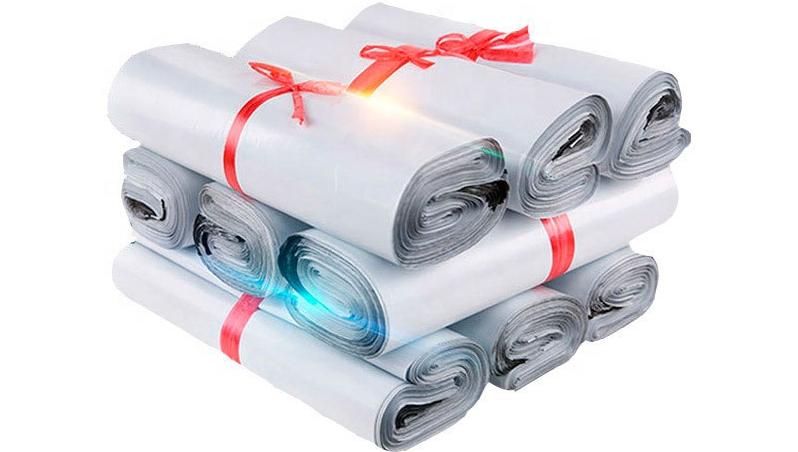 郵便配達のための注文のロゴの印刷の宅配便のパッキング袋の郵送ポストのプラスチック包装袋