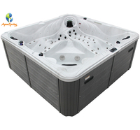 Large outdoor spa pooling hydro spa perfect pool
