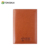 Classical Bifold brown imperial leather passport holder wallet for travel/promotion/gift