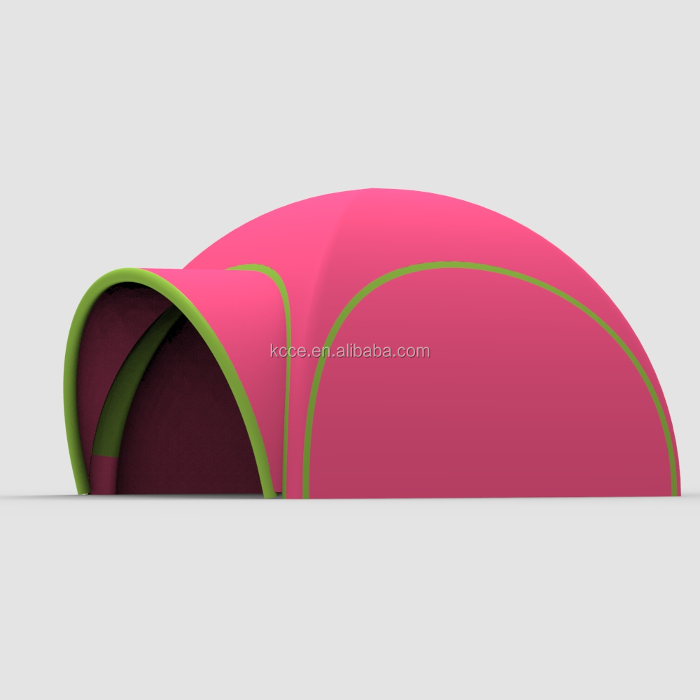 20feet factory Portable outdoor event exhibition full printing waterproof oxford dome TPU inflatable air spider tent//