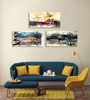 Cheap canvas paintings picture prints home decor wall arts islamic canvas