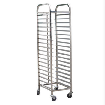 hot sale Stainless steel 18 - layer tray frame / tray trolley for Restaurant Bakery